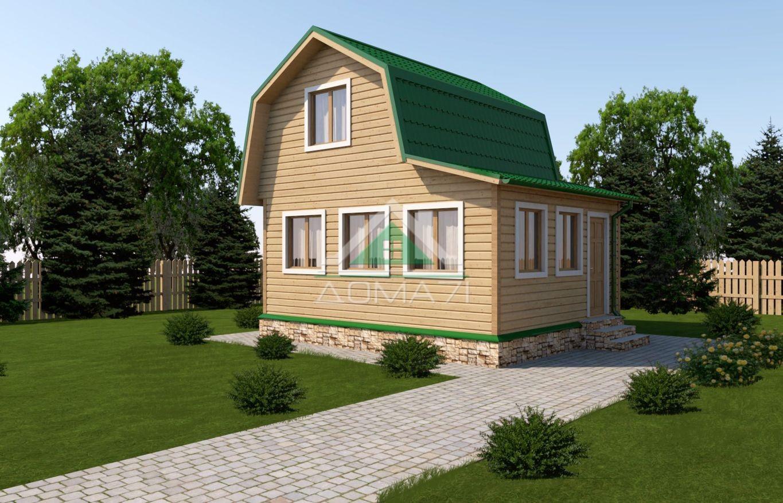 Дачный дом 5x6 проект 6