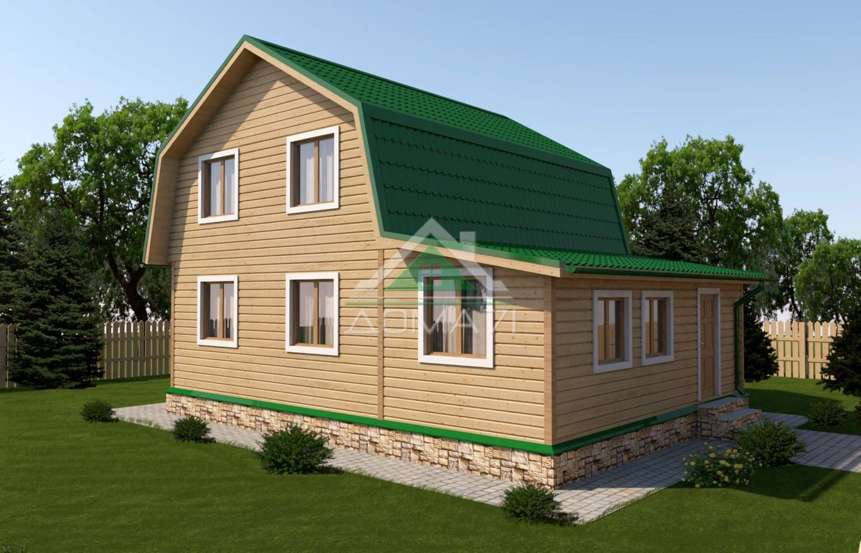 Дачный дом 6x9 проект 31