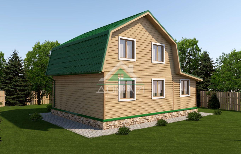 Дачный дом 6x9 проект 31 под ключ