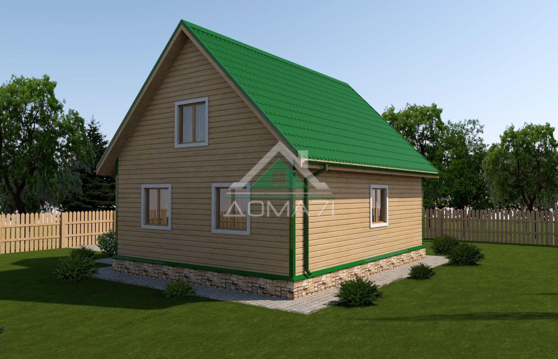 дачный дом 7х9 проект 41