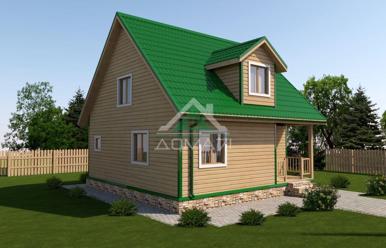 дачный дом 8х8 цена проект 42