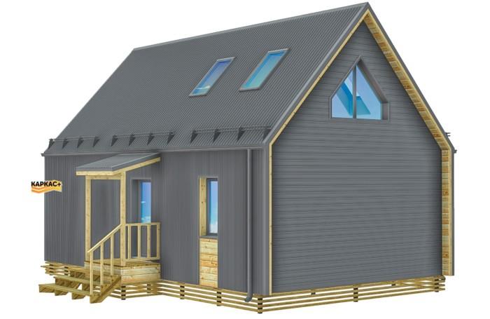 Тула каркасный дом бранхаус