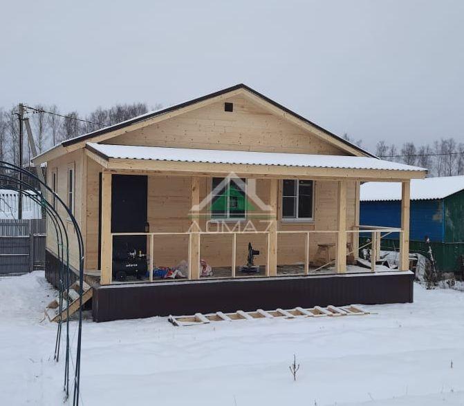 Зимнее строительство дачи в Туле