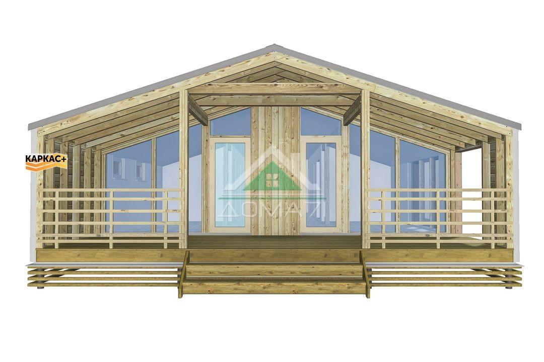 Барнхаус Тула проект каркасный дом