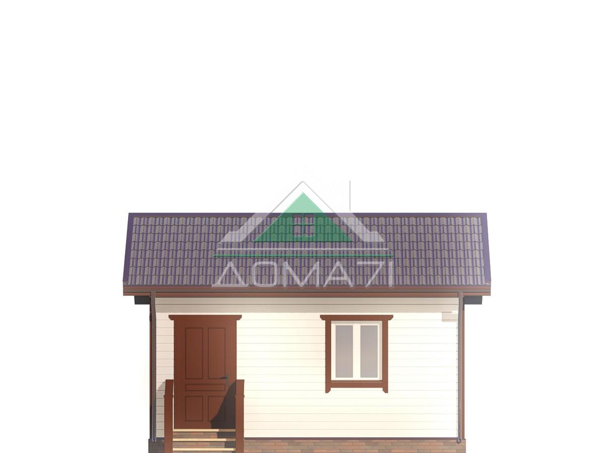 Дачный домик 4х6 эконом