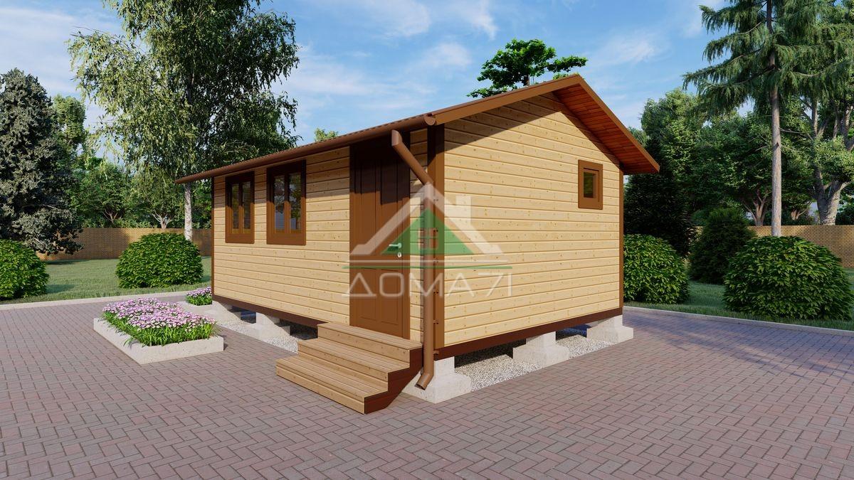Садовый домик 4х6 эконом