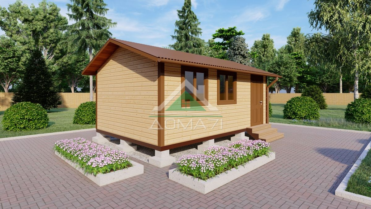 Садовый домик 4х6 недорого