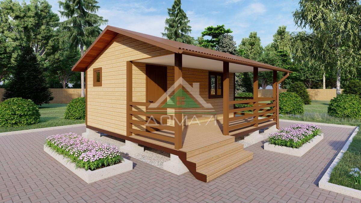 Садовый домик 5х6 эконом недорого