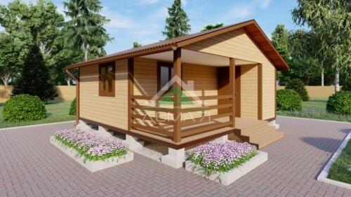 Садовый дачный дом 6х6 недорого в Туле