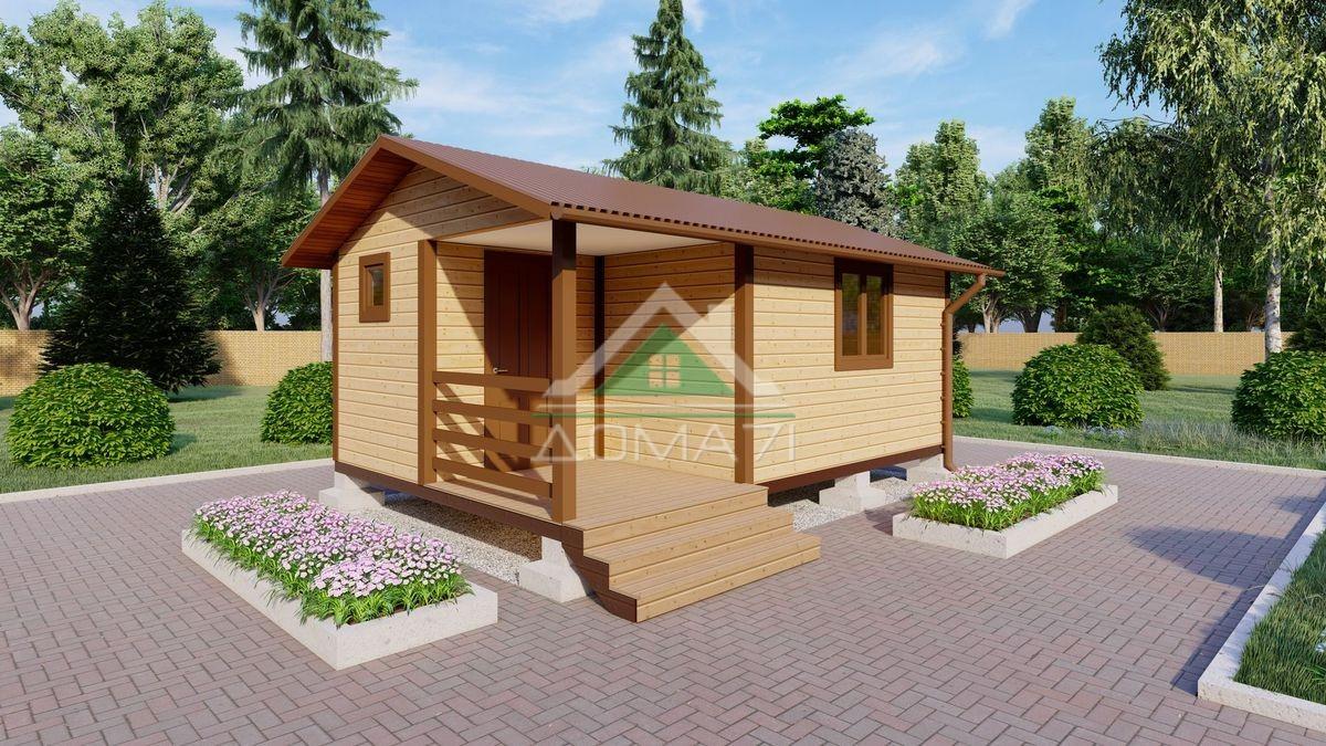 Садовый домик 4х6 цена под ключ
