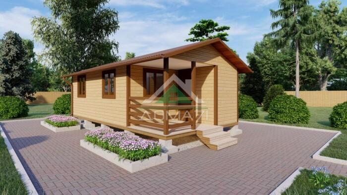 Садовый домик 4х8 цена под ключ в Туле