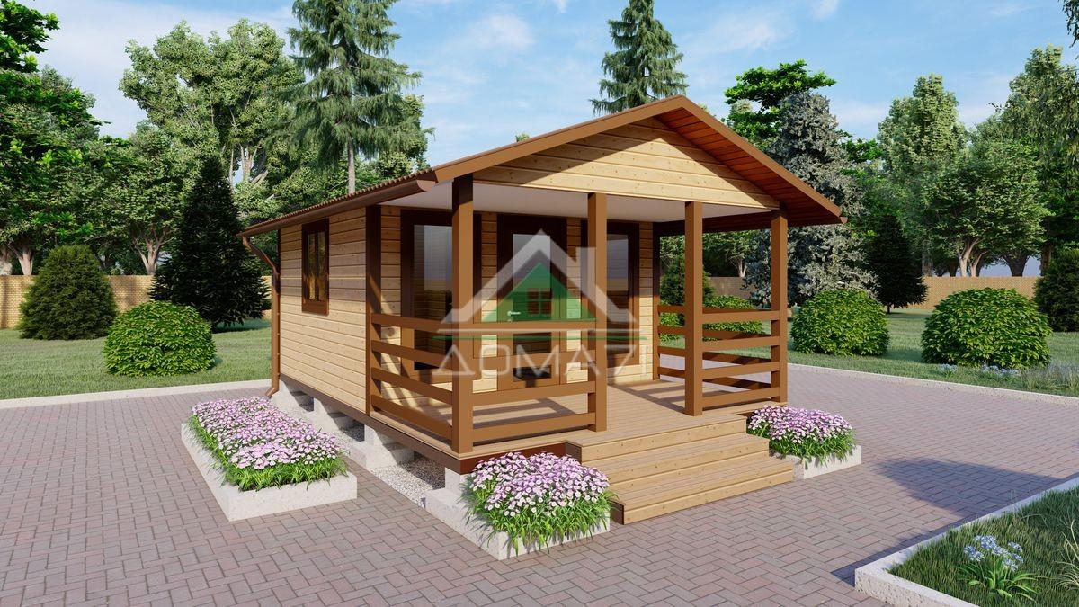 Садовый дом 4х6 недорого в Туле