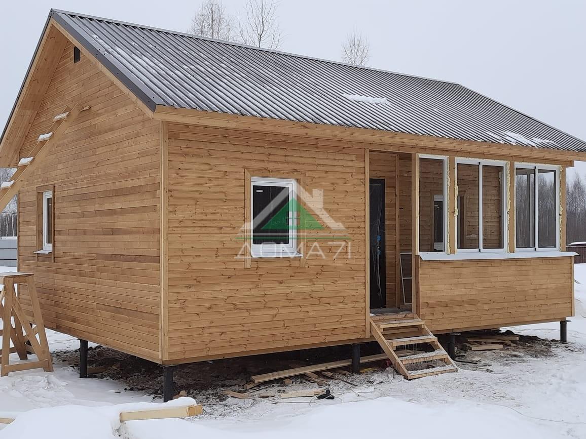 Дачный дом 6х8 Заокский Тульская область